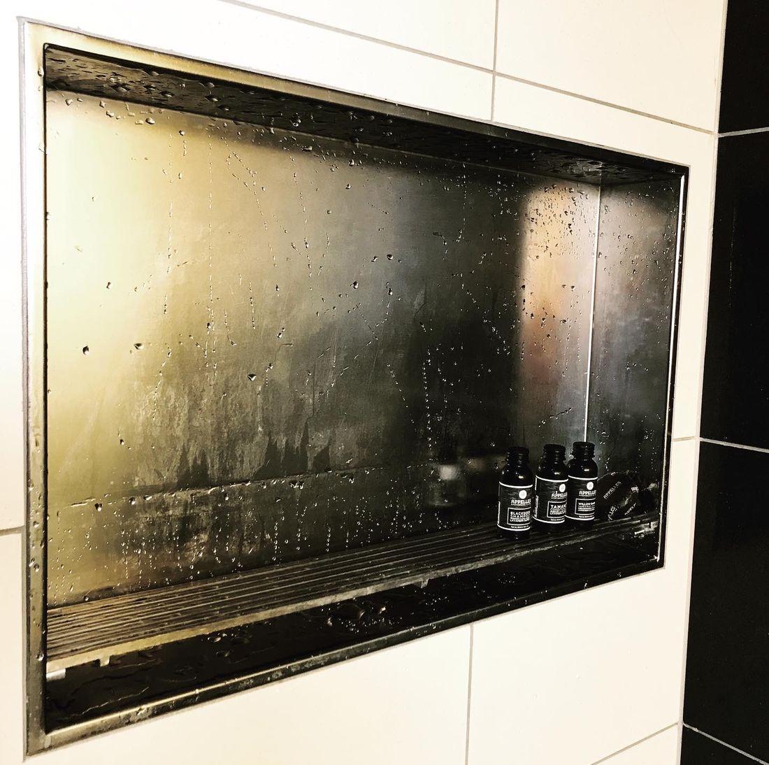 Custom Shower Recess